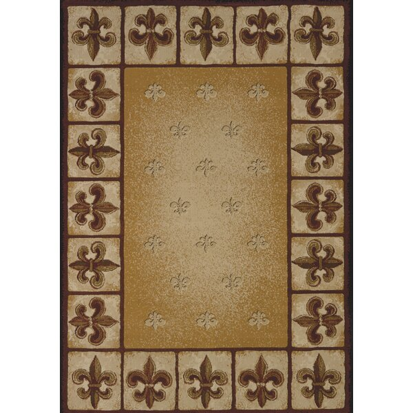 China Garden Fleur De Lys Area Rug by United Weavers of America