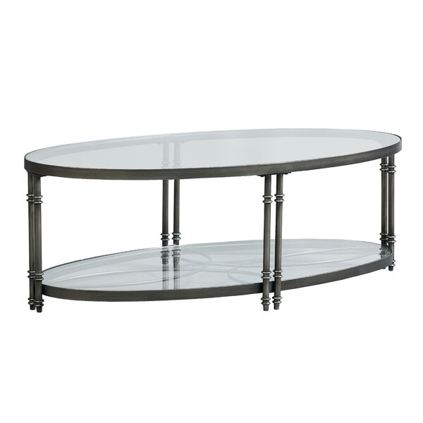 Dillsboro Coffee Table With Magazine Rack By Breakwater Bay