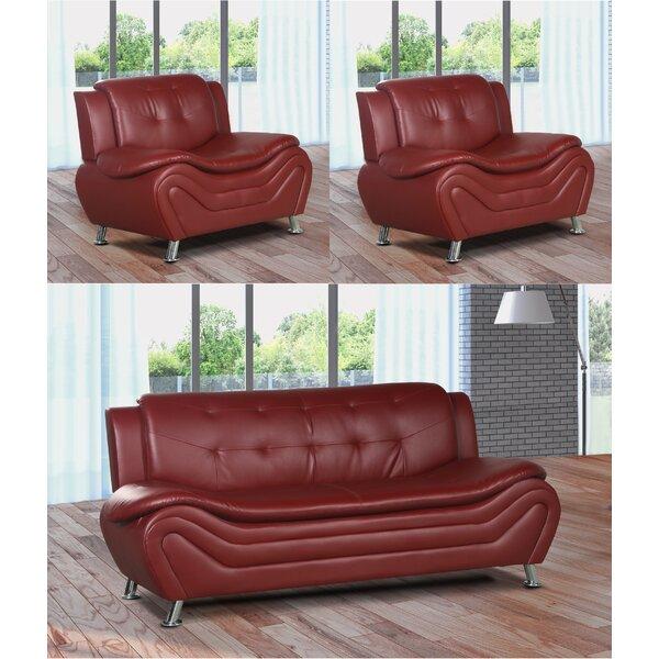 Tolar 3 Piece Living Room Set by Latitude Run