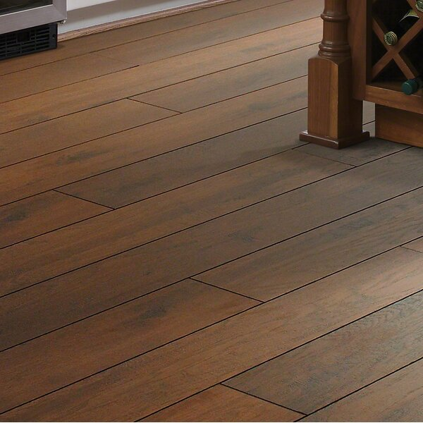 Palisades 5 x 48 x 12mm Hickory Laminate Flooring in Hudson Hill by Shaw Floors