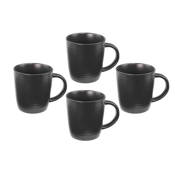 Cafeware Mug (Set of 4) by Home Basics