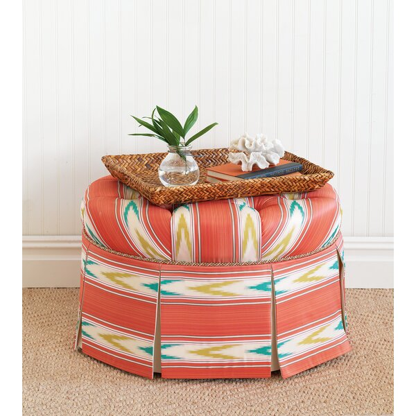 Maldive Tufted Cocktail Ottoman by Eastern Accents