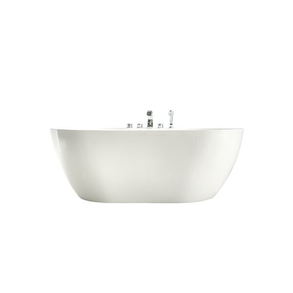 67 x 32 Freestanding Soaking Bathtub by Streamline Bath
