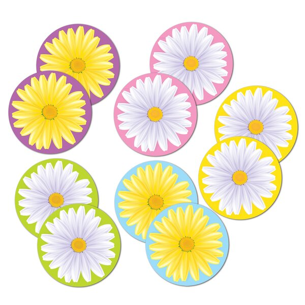 Mini Daisy Standup (Set of 30) by The Beistle Company