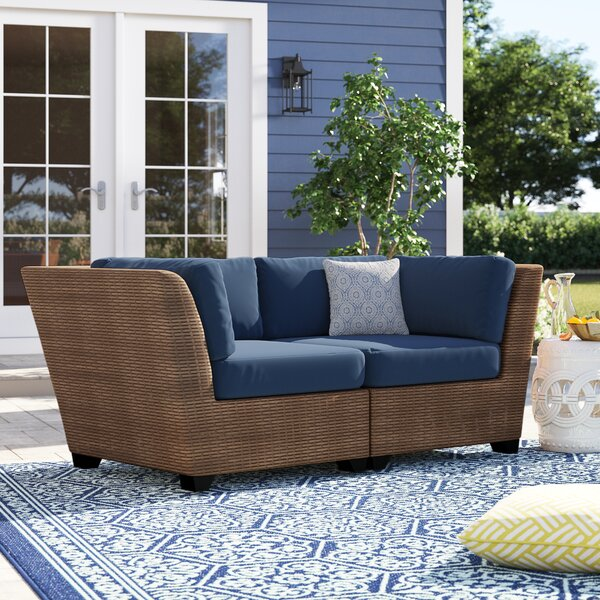 Waterbury Patio Sectional with Cushions (Set of 2) by Sol 72 Outdoor Sol 72 Outdoor