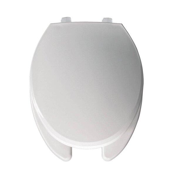 Hospitality Plastic Elongated Toilet Seat by Bemis