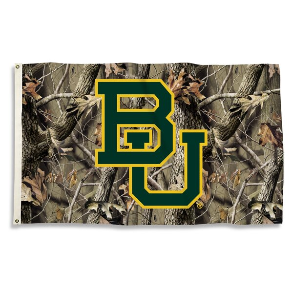 NCAA Realtree Camo Polyester 3 x 5 ft. Flag by Team Pro-Mark