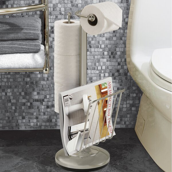 Free Standing Toilet Paper Holder by Better Living Products