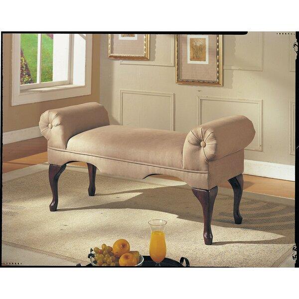 Bridger Upholstered Bench by Astoria Grand