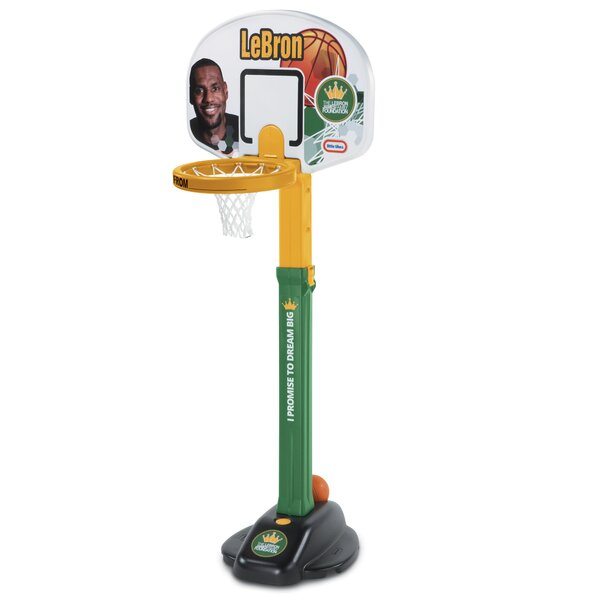 LeBron James Family Foundation Dream Big Basketball Set by Little Tikes