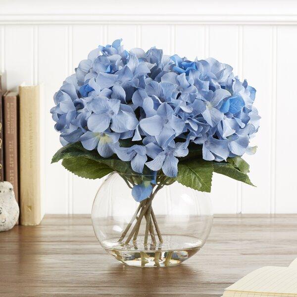 Faux Blue Hydrangea Bloom by Birch Lane™