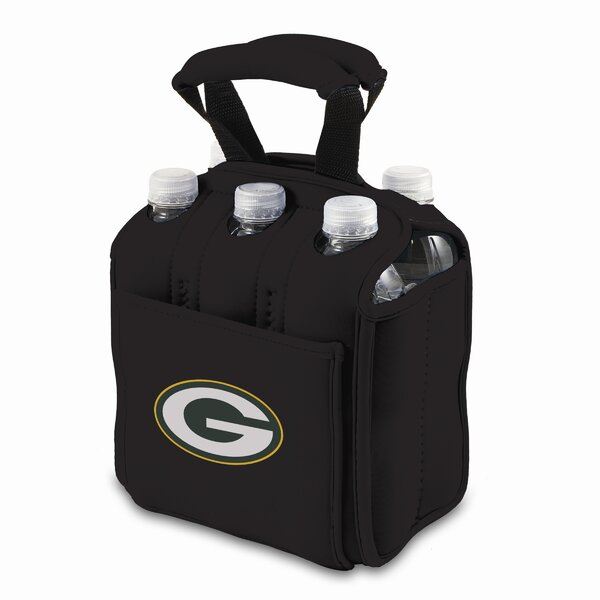 NFL Digital Print Six Pack Beverage Carrier by Picnic Time
