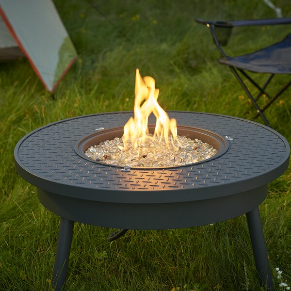 Renegade Steel Propane/Natural Gas Fire Pit Table by The Outdoor GreatRoom Company