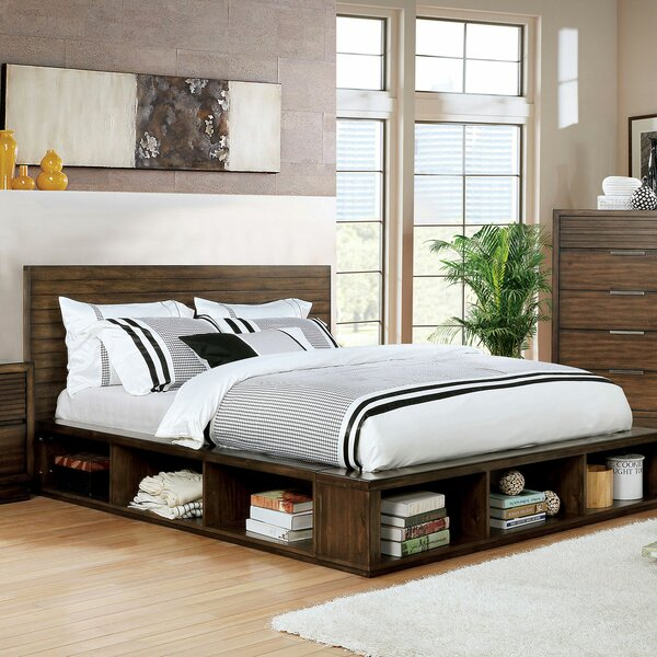 Silliman Storage Platform Bed by Union Rustic