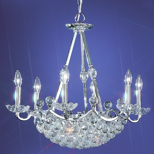 Solitaire 12 - Light Candle Style Empire Chandelier By Classic Lighting