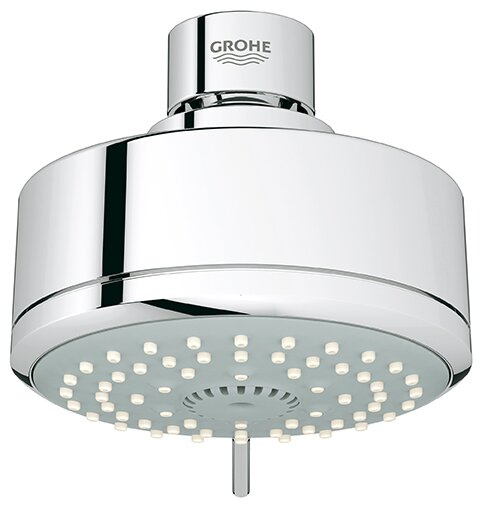 Tempesta Rain Adjustable Shower Head With SpeedClean Nozzles By GROHE