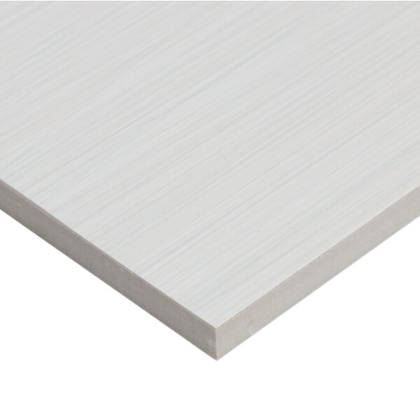Fabrique 12 x 24 Porcelain Wood Look Tile in Blanc Linen by Daltile