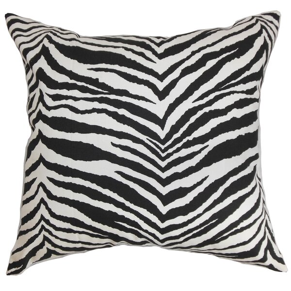 Cecania Cotton Throw Pillow by The Pillow Collection