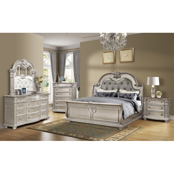 Morven Queen Standard 4 Piece Bedroom Set by Astoria Grand