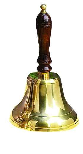 Finney Hand Bell Sculpture by Breakwater Bay