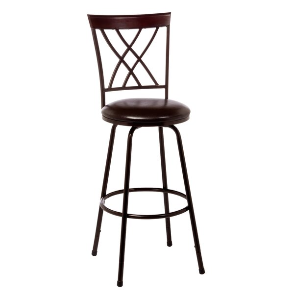 Umstead 26 Swivel Bar Stool by Winston Porter
