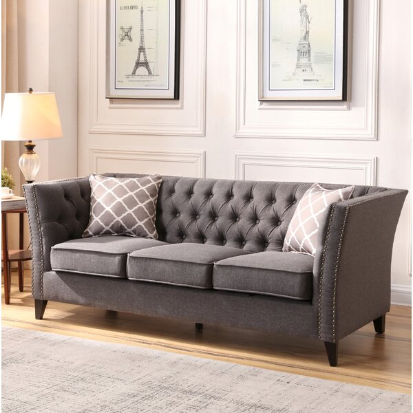 Stay On Trend This Mcgee Chesterfield Sofa Here's a Great Price on