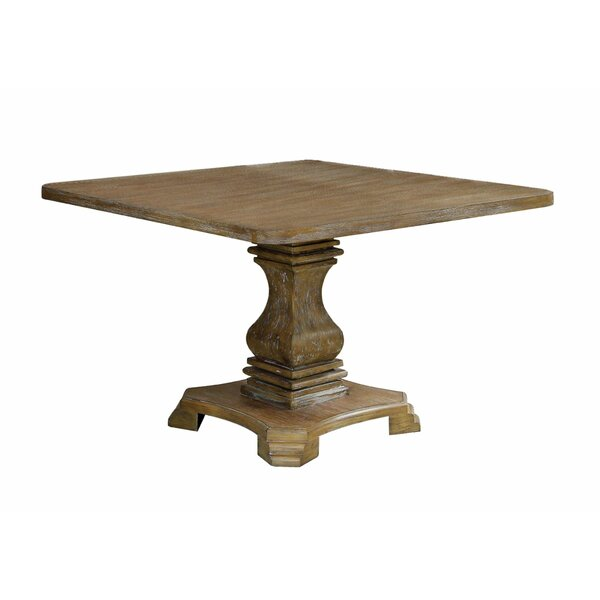 Ciera Solid Wood Dining Table by Rosalind Wheeler Rosalind Wheeler