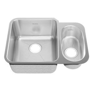 24.88 L x 18.75 W Undermount Double Combination Bowl Kitchen Sink by American Standard