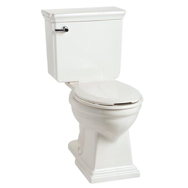 Brentwood HET SmartHeight 1.28 GPF Elongated Two-Piece Toilet by Mansfield Plumbing Products