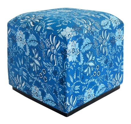 Palampore Cube Ottoman by Divine Home