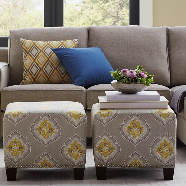 Cube Ottoman by Skyline Furniture