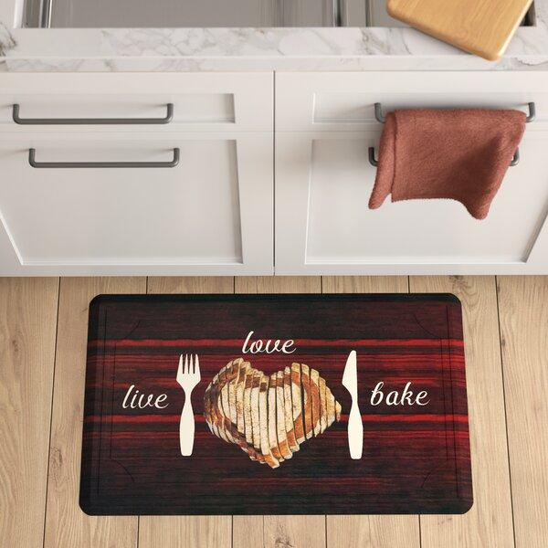 Ramm Live Love Bake Gelness Kitchen Mat