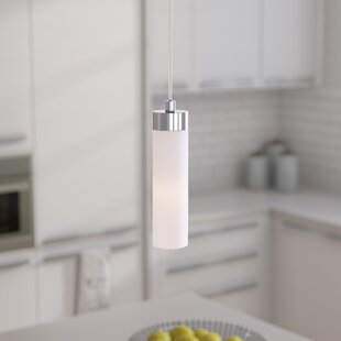 Purchase Fatima 1-Light Cylinder Pendant By Zipcode Design