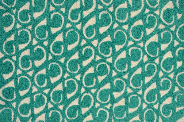 Dedham Hand-Hooked Green Area Rug by Threadbind