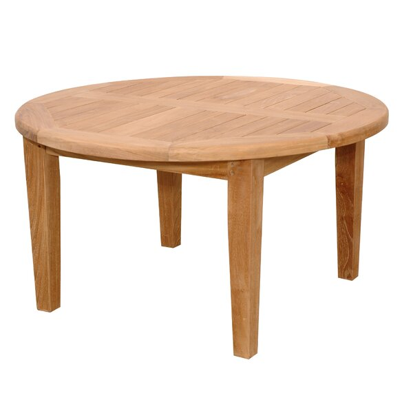 Bourgoin Solid Wood Coffee Table by Freeport Park