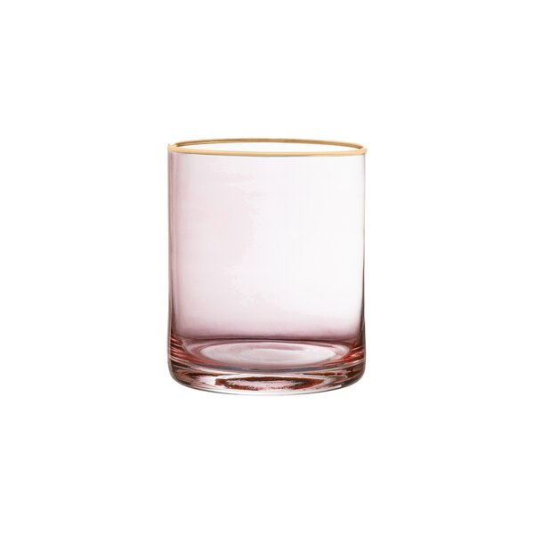 Morena Old Fashion Glass Stemless Vino Glass (Set of 4) by House of Hampton