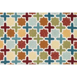 Francesca Hand Woven Blue/Green Area Rug
