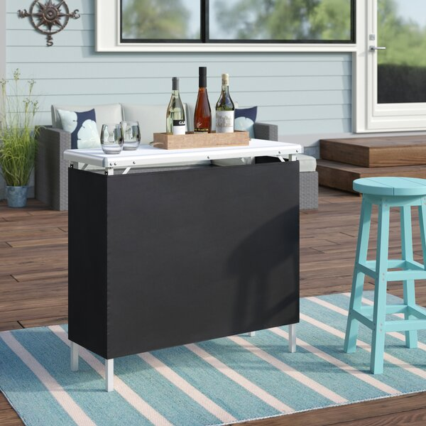 Adrien High Top Bar by Beachcrest Home