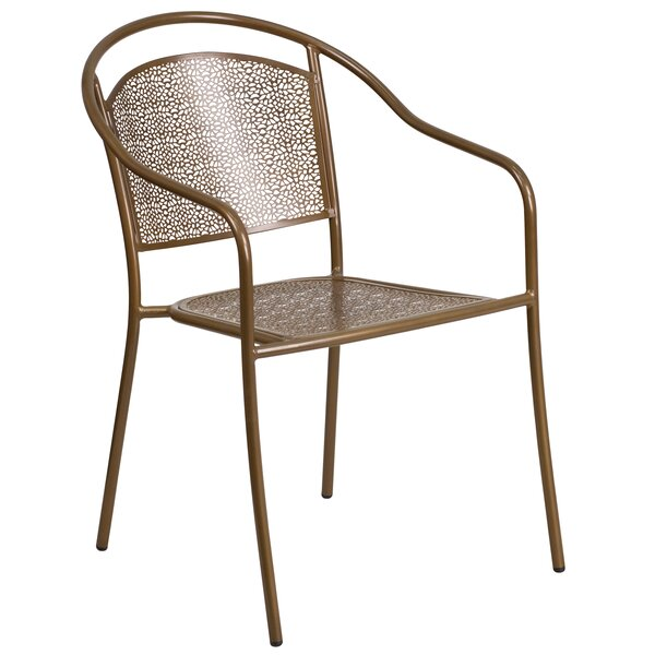 Minna Stacking Patio Dining Chair by Zipcode Design