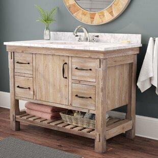 Save Union Rustic Loftin 42 Single Bathroom Vanity Set