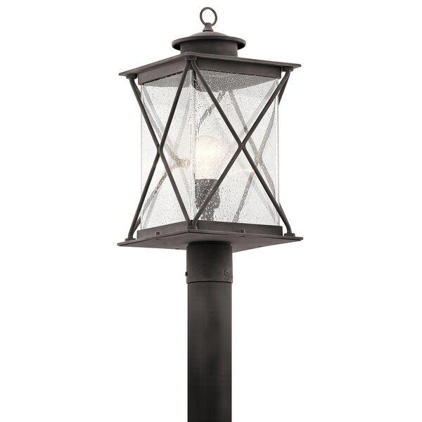 Kersey 1-Light Outdoor Post Light by Loon Peak