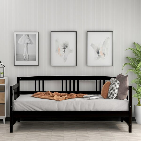 Agatia Twin Solid Wood Daybed By Latitude Run