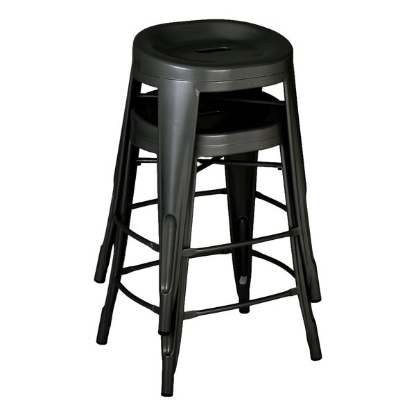 Benji 24 Bar Stool (Set of 2) by Williston Forge