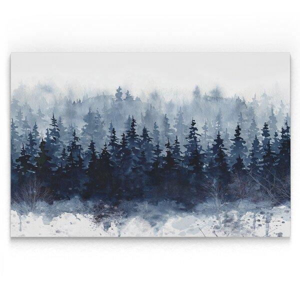 Indigo Forest Print By Loon Peak.