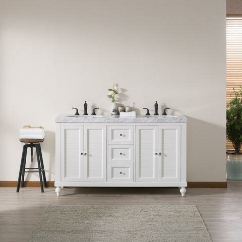 Houon 60 Double Bathroom Vanity Set by Darby Home Co