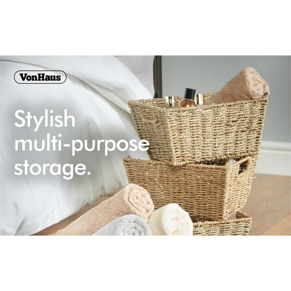 A Charming Addition To Any Room, These Multi Purpose Baskets Offer A  Practical And Classically Stylish Storage Solution.