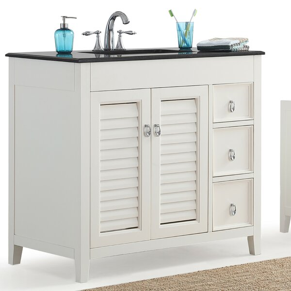 Adele 37 Single Bathroom Vanity Set by Simpli Home