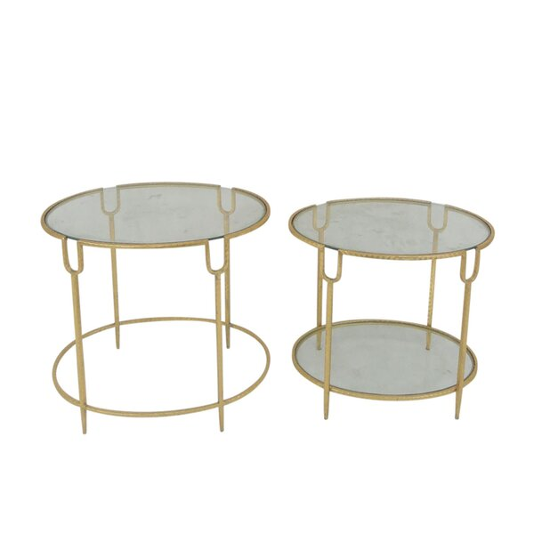Penzance 2 Piece Nesting Tables By Everly Quinn