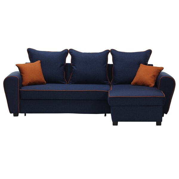Shonda Right Hand Facing Sleeper Sectional by Red Barrel Studio