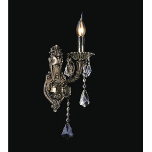 Bargain Bonilla 1-Light Candle Wall Light By Astoria Grand